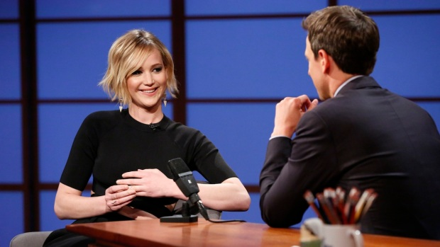 [NATL] Meyers: Jennifer Lawrence Admits She Vomited at Oscars After Party
