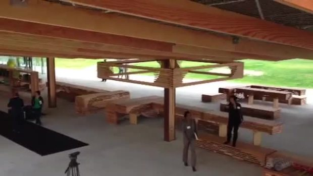 RAW VIDEO: New Pavilion at St. Elizabeths