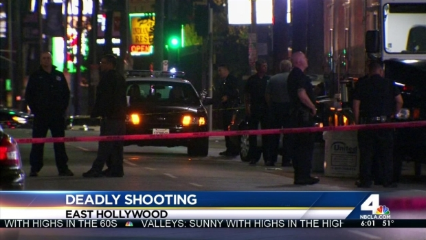 [LA] Police Shoot and Kill Knife-Wielding Man in Hollywood