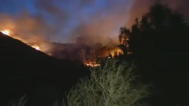 Photos from Fire in Santa Cruz Mountains