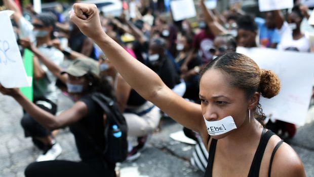 Police Shootings of Black Men Spark Protests