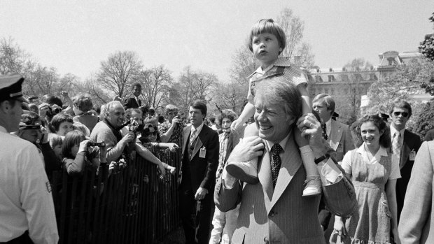 Scenes From Historic Presidential Easter Egg Rolls