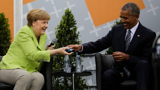 [NATL] Obama Speaks About Manchester at Berlin Event