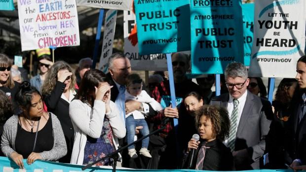 [NATL] Children Sue Trump Administration Over Climate Change