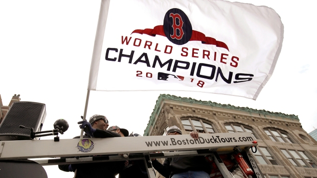#DamageDone: Scenes From the Red Sox Championship Parade