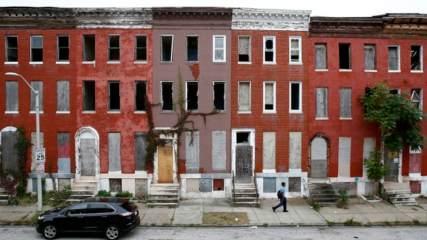 Photos: Baltimore Trying to Stem Urban Decay in 'Ghost Neighborhoods'