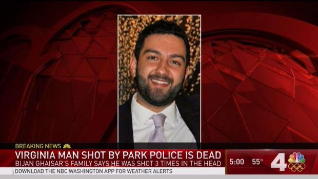 Accountant Shot by Park Police Has Died