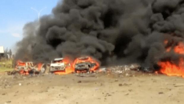 U.S. accuses Syria of mass executions and burning bodies in crematorium