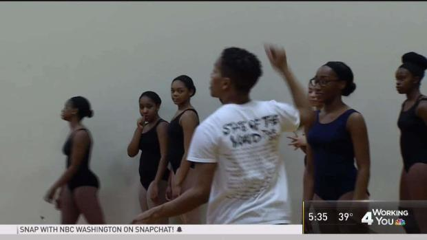 Alvin Ailey Dancer Visits Suitland High to Teach