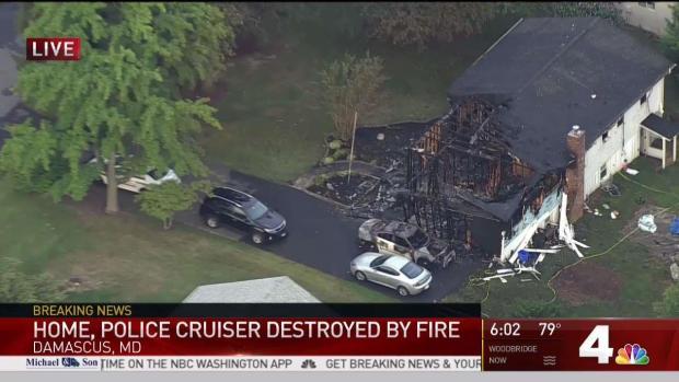 [DC] Ammunition Inside Police Car Explodes During Fire