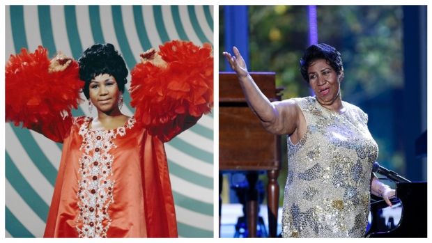 [NATL] Aretha Franklin's Life in Photos