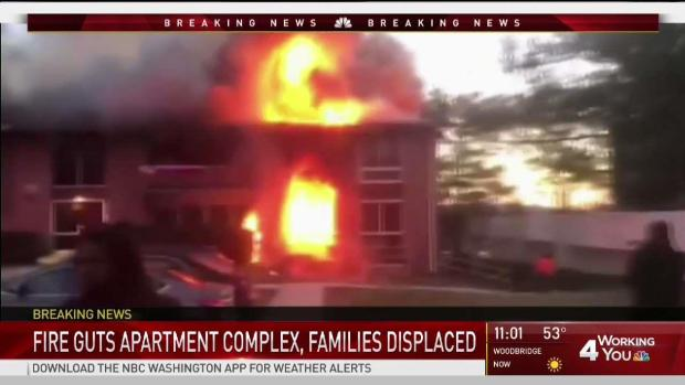 [DC] At Least 20 Families Without Homes After Large Fire in Md.