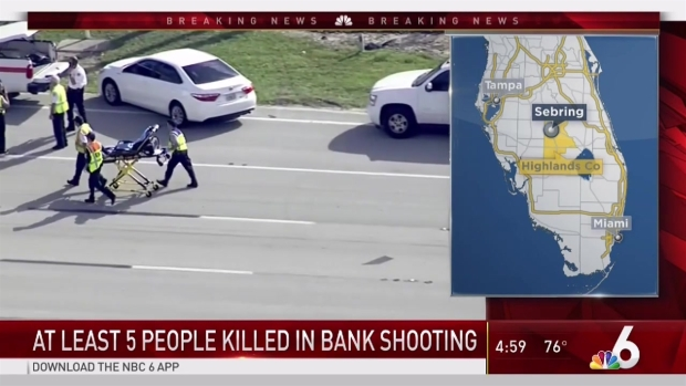 [MI] At Least 5 Killed in Florida Bank Shooting