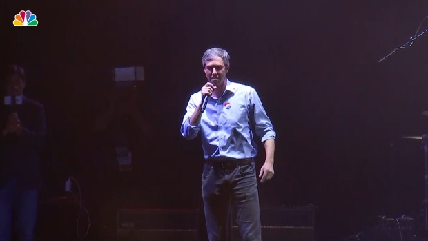[NATL] Beto O'Rourke Drops F-Bomb During Concession Speech