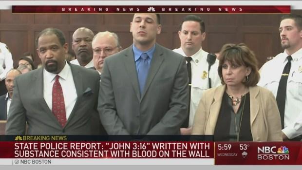 [NATL-NECN] Mass. State Police Release Report on Death of Aaron Hernandez