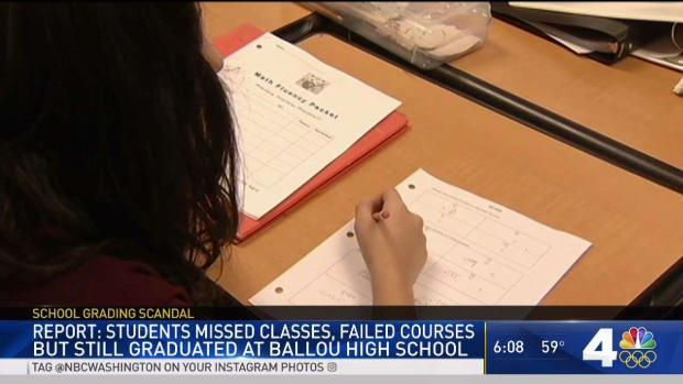 Ballou Let Failing Students Graduate, Report Says