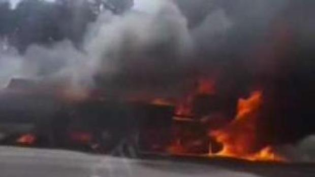 Capital Beltway Reopens After Fiery Truck Crash in Fairfax