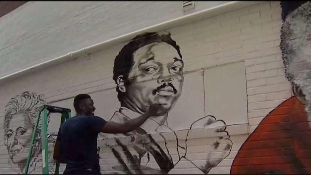 [DC] Ben's Adds New Famous Faces to Mural for 60th Anniversary