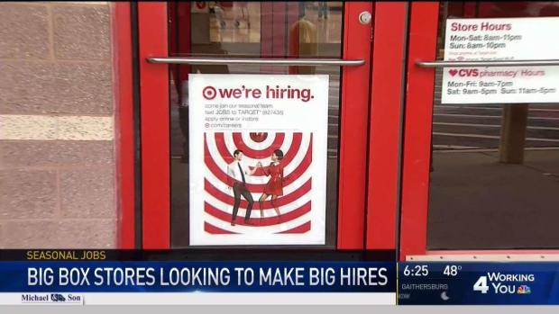 [DC] Big Box Stores Looking to Make Big Hires