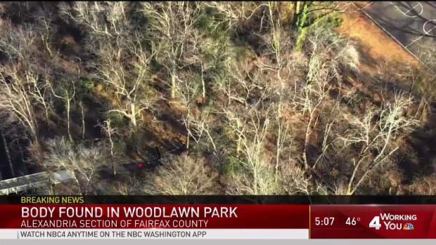 Body Found in Fairfax County Park