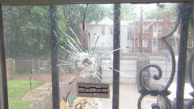 Bullets Fly Into Southeast DC Family's Home