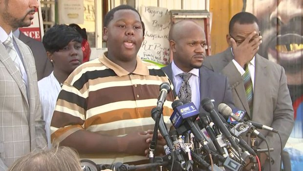 [NATL] Alton Sterling's Son Calls For People to 'Come Together as One'