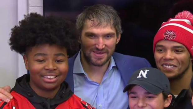 [DC] Capitals Honor Youth Hockey Team for Standing Up to Racism