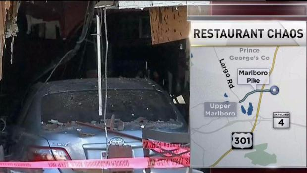 [DC] Car Crashes Into Maryland Restaurant During Lunchtime