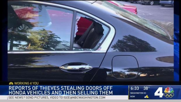 [DC] Thieves Steal Doors From Parked Cars