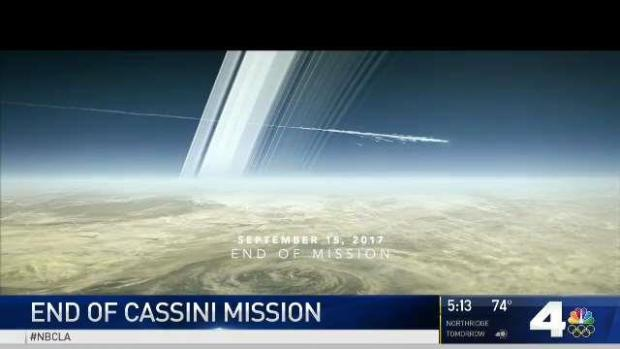 Watch Live as NASA's Cassini Finally Faces Its Fiery Doom