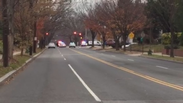 RAW VIDEO: Connecticut Ave. Blocked as Police Investigate Comet Ping Pong Gunman