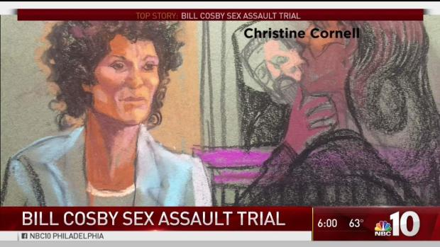 Cosby's accuser says she was drugged, groped; 'I was frozen'