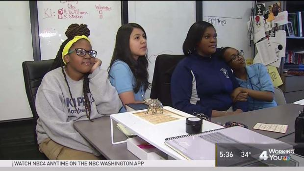 'You Are Powerful': DC Girls Inspired by Oprah's Speech
