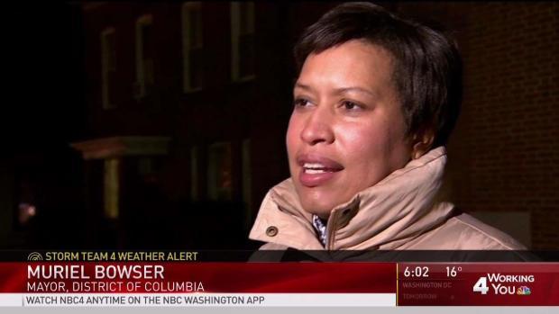 DC Mayor Warns of Dangerous Cold