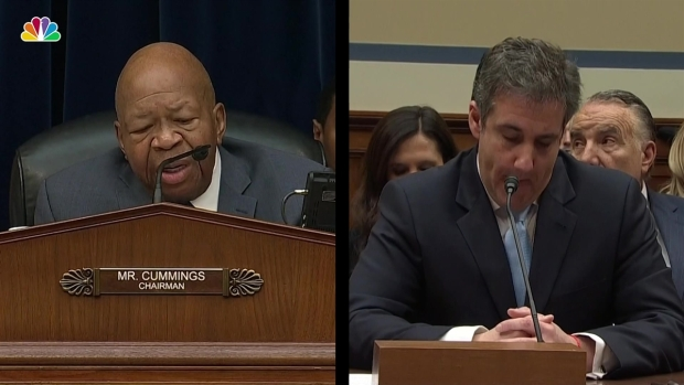 [NATL] Cummings Presses Cohen on Alleged Hush Money Payments