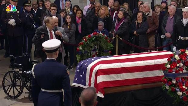 [NATL] Bob Dole Salutes Former President George H.W. Bush