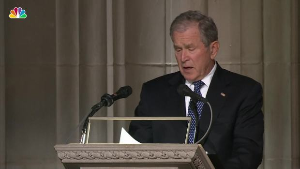'I Love You Too': George W. Bush Remembers Dad's Last Words