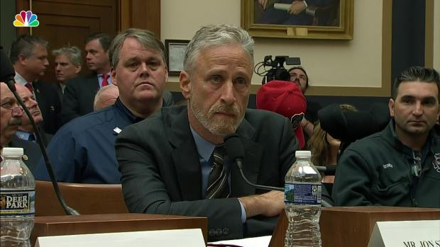 [NATL] Jon Stewart Blasts Congress Over 9/11 Victims Fund