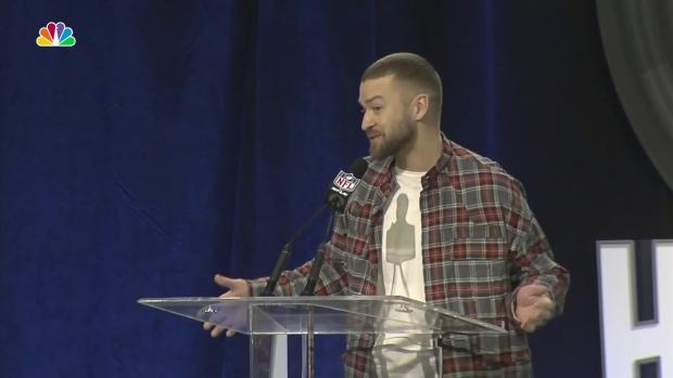 [NATL] Will There Be an N'Sync Reunion at the Super Bowl? Justin Timberlake Answers