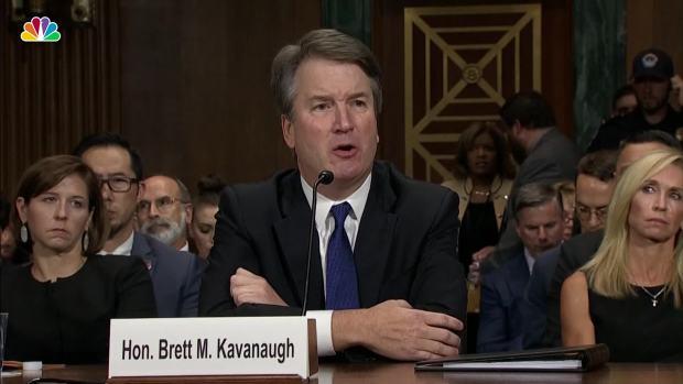 Kavanaugh Pressed About Drinking Beer