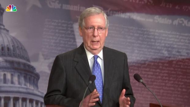 [NATL] McConnell Calls for Bipartisanship After Midterms