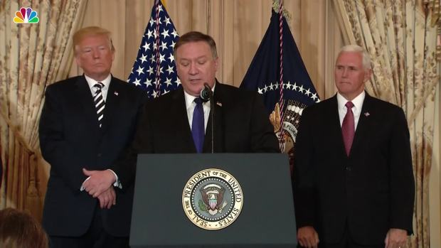 [NATL] Mike Pompeo Lays Out Roadmap as Secretary of State