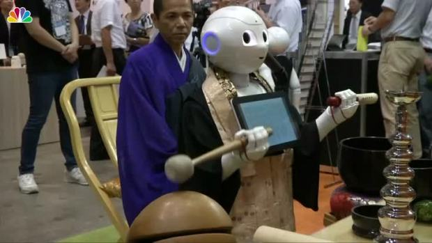 [NATL] Meet 'Pepper' the Robot Priest