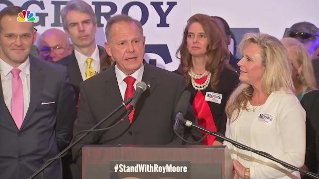 [NATL] Alabama GOP Senate Candidate Roy Moore Holds News Conference After Two New Accusers Emerge