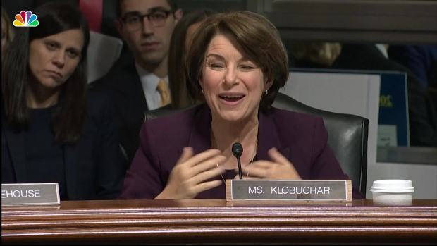 Sen. Klobuchar to GOP Colleagues: 'Where Is the Bravery In This Room?'