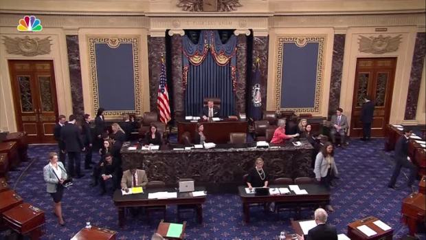 Senate Leaders Come Together After GOP Baseball Shooting