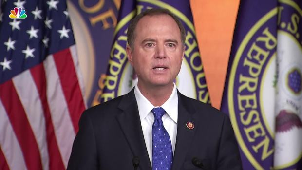 [NATL] Rep. Schiff on Trump-Ukraine President Memo: 'Classic, Mafia-Like Shakedown of a Foreign Leader'