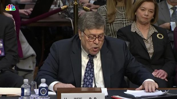 [NATL] William Barr Says Special Counsel Mueller Will Be Allowed to 'Finish His Work'