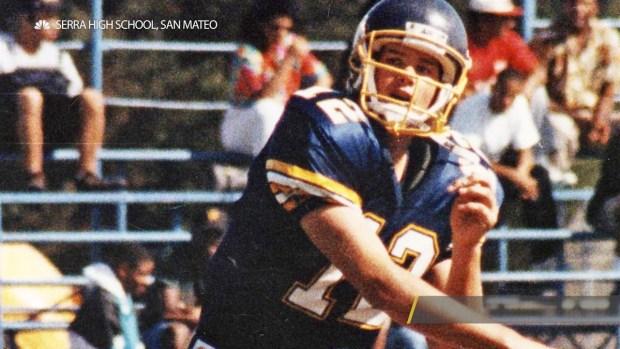 [NATL] Tom Brady's High School Photos