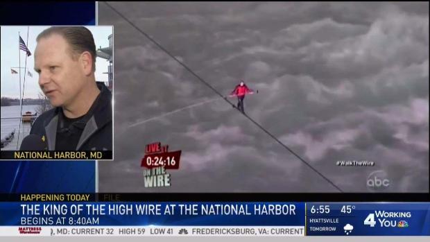 [DC] Daredevil Brings High-Wire Act to National Harbor